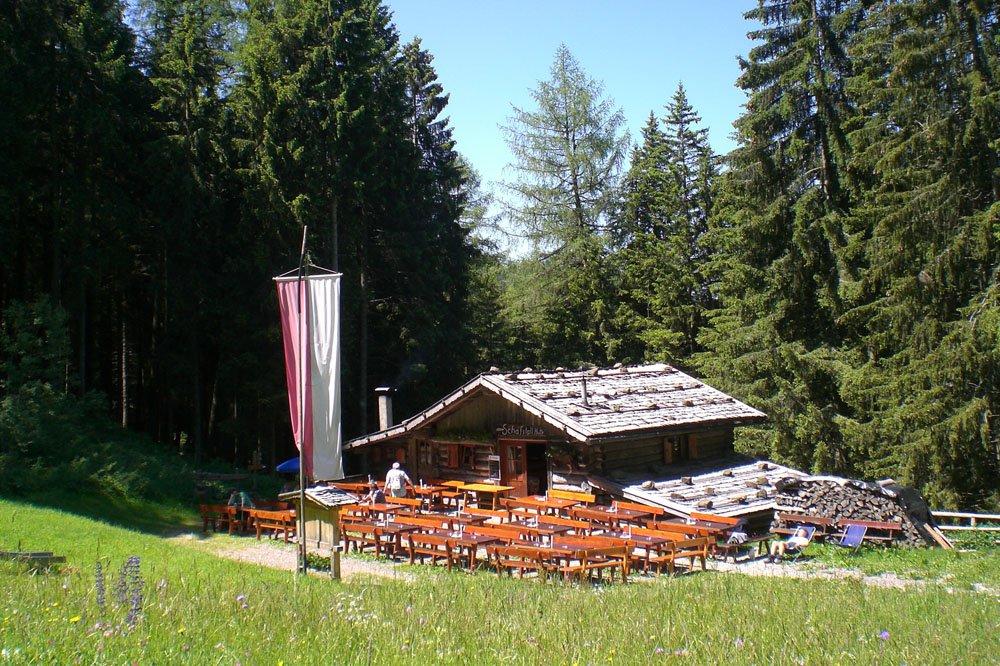 Reach our alpine inn with a pleasant walk
