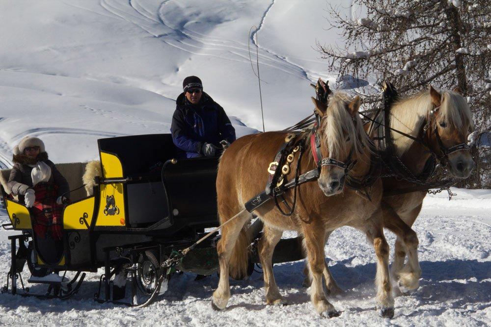 Winter auf der Seiser Alm - Nicht nur für Skifahrer