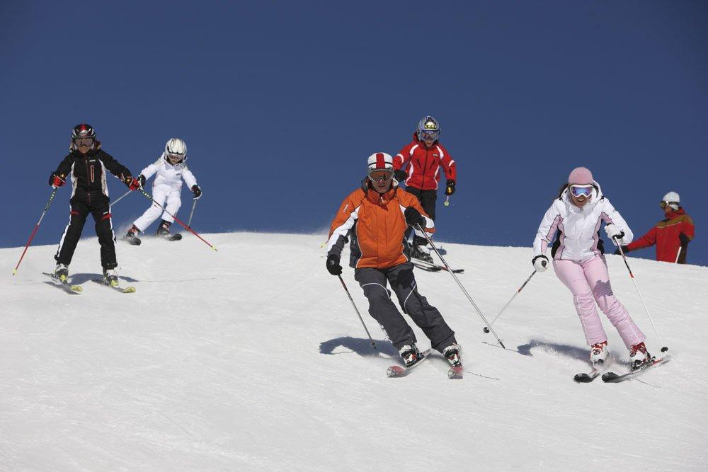 Unendliches Wintervergnügen in den Dolomiten
